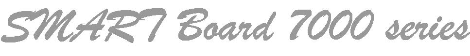 SMART Board 7000 series