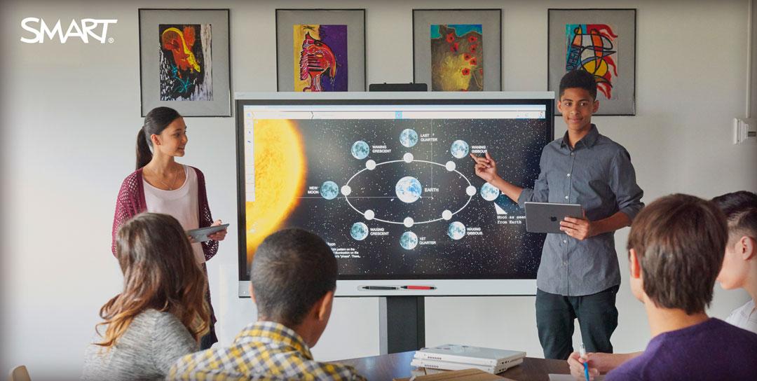 Smart Interactive display in class room.